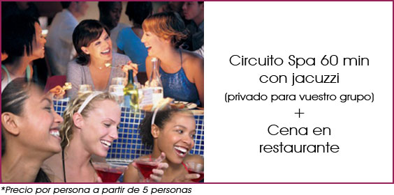 circuito spa y cena en madrid
